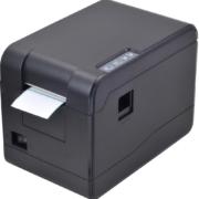 Etikettendrucker PXB23308 - Frontansicht mit Papier